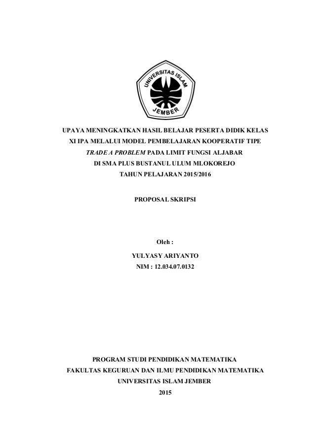 Cover Proposal Skripsi