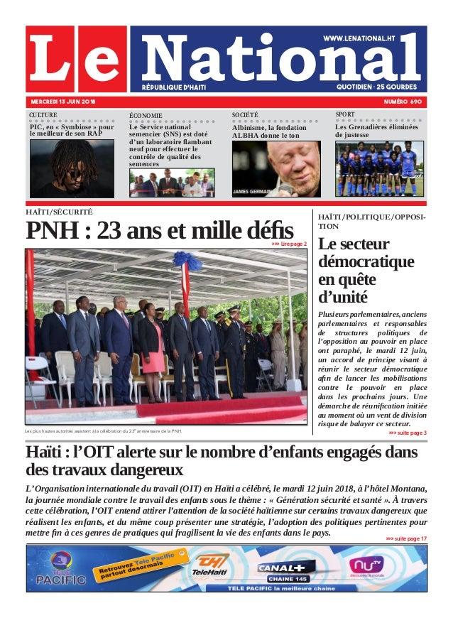Haïti : l'OIT alerte sur le nombre d'enfants engagés dans des travaux dangereux L'Organisation internationale du travail (...