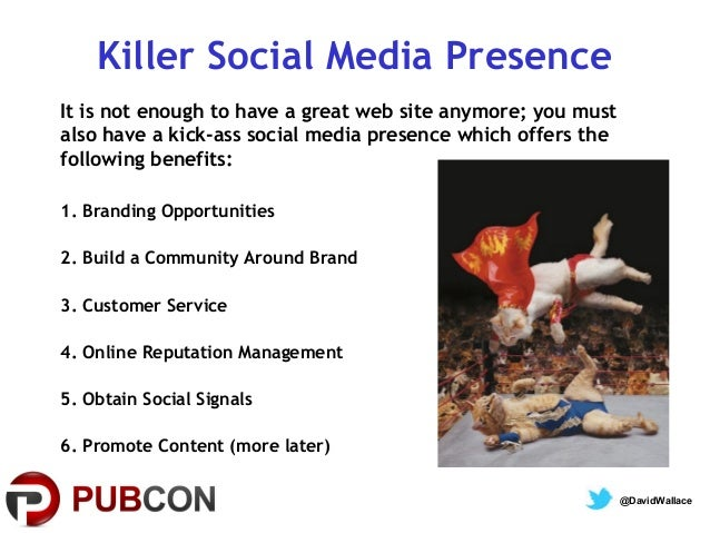 Convergence of Social & Search  Pubcon 2013 Slide 2