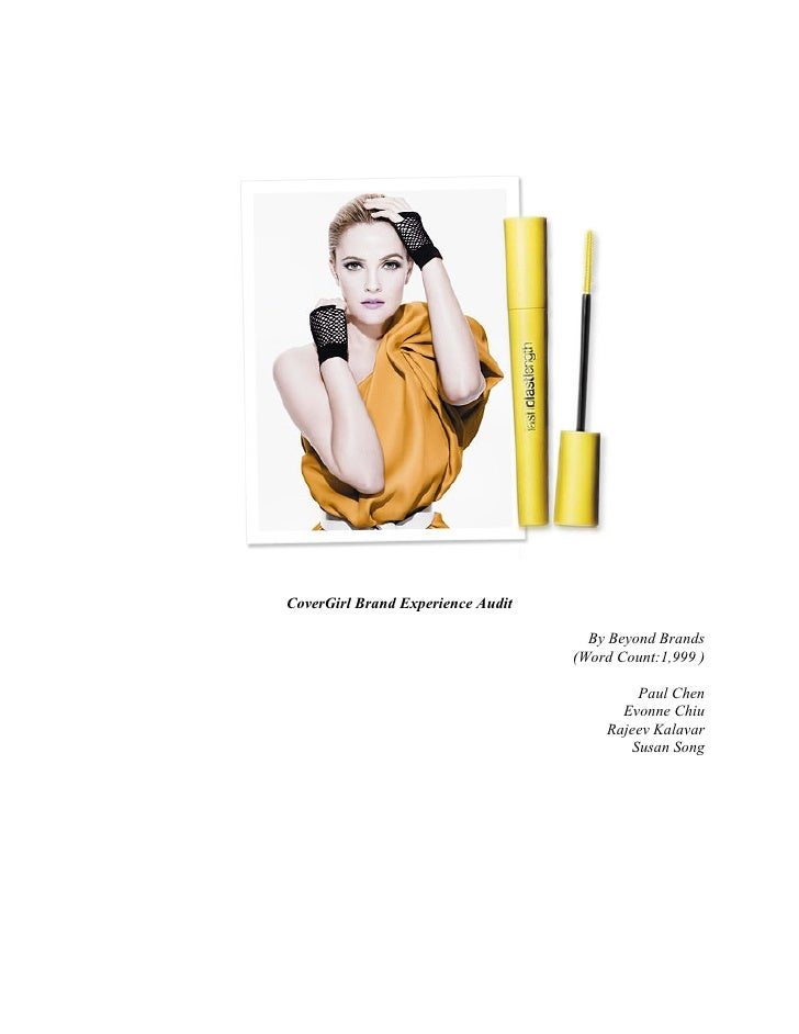 CoverGirl Brand Experience Audit                                     By Beyond Brands                                   (W...