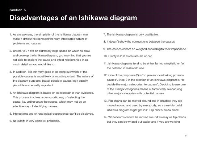 Ishikawa it problem management section 4 categories in an ishikawa diagram 10 12 1 ccuart Image collections