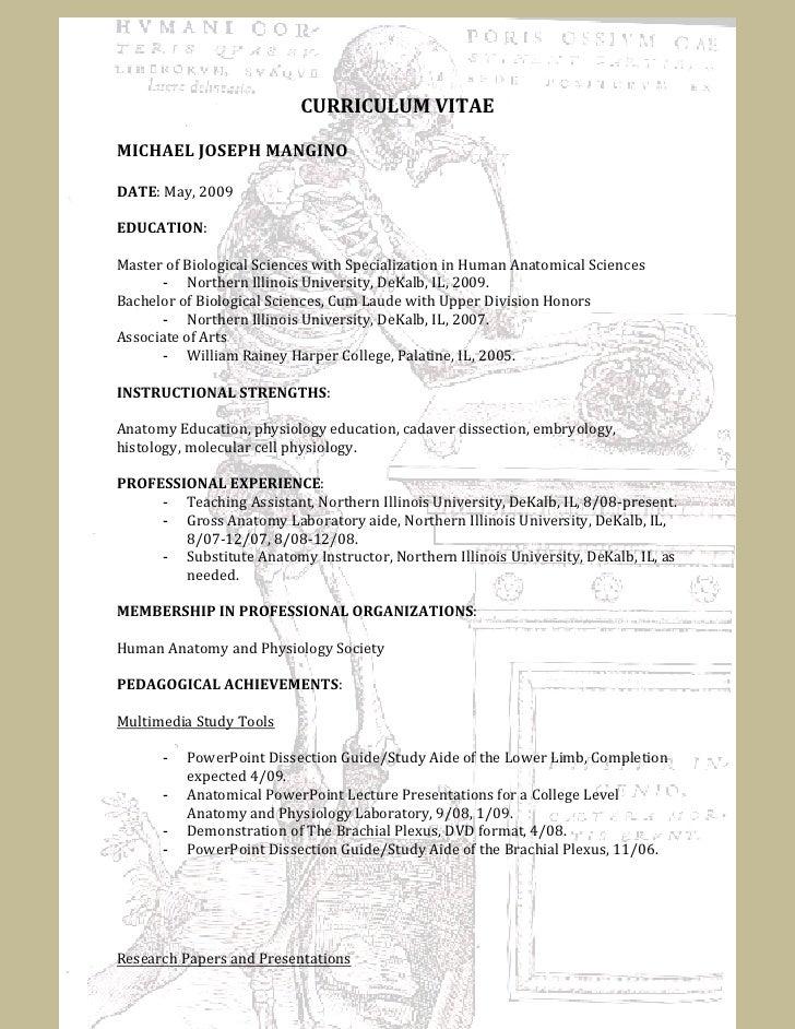 Embryologist Cover Letter