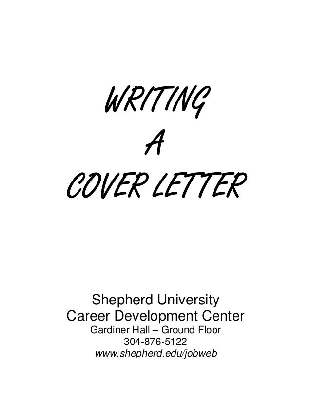 Writing a Cover Letter – Handwritten Cover Letter