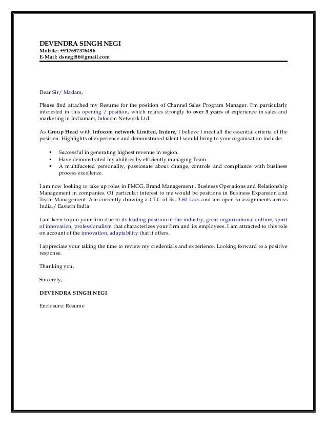 what is the purpose of a covering letter attached to your resume Should i send my resume' and cover letter as then attach your one-page resume' to should i send my resume' and cover letter as pdf or word documents.