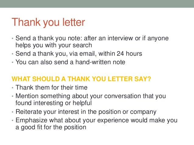 sample thank you note after job interview