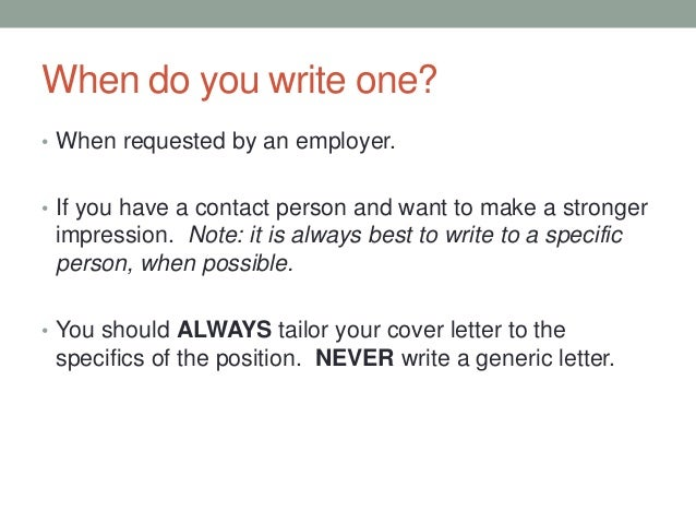 how to address a cover letter without a contact person