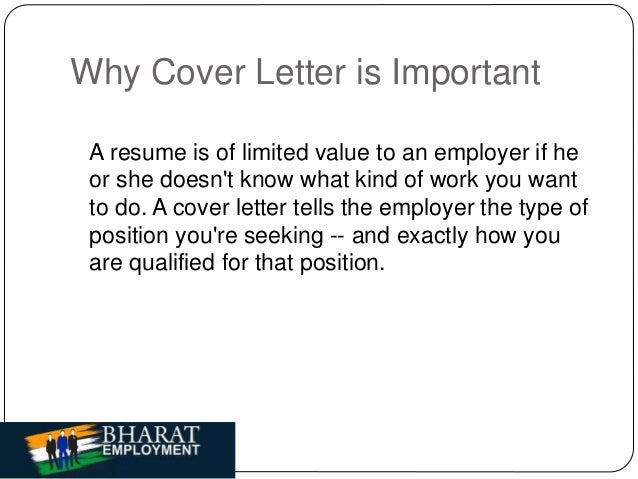 4 why cover letter is important - Is Cover Letter Important