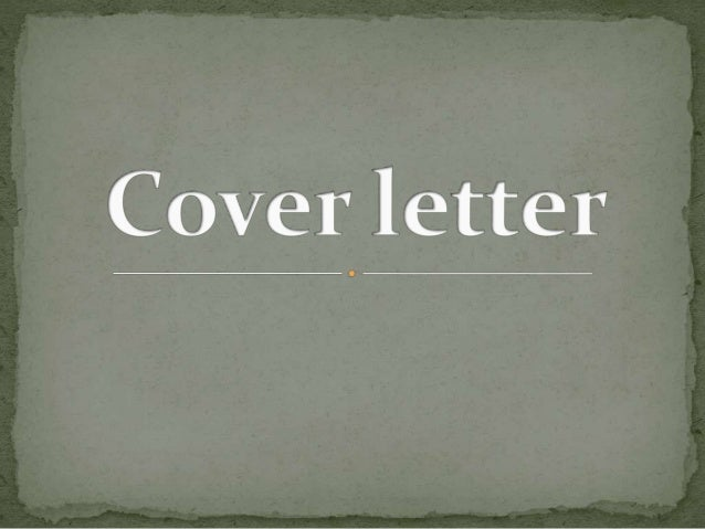  A cover letter is often used as the introduction to yourself  It is about why you are a good fit for the position.  It...