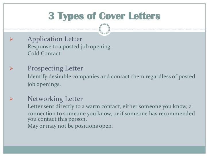 type of cover letter - Sasolo.annafora.co