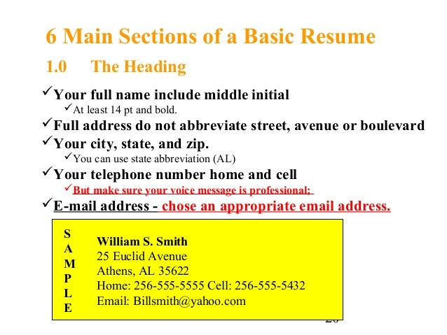 SlideShare  How To Make A Resume For A Highschool Student