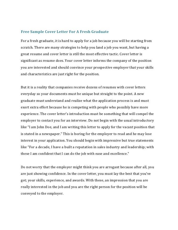 3 free sample cover letter - How Do You Do A Cover Letter For A Resume