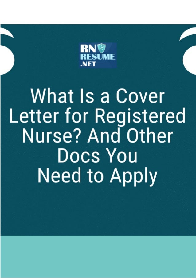 What Is A Registered Letter.What Is A Cover Letter For Registered Nurse And Other Docs