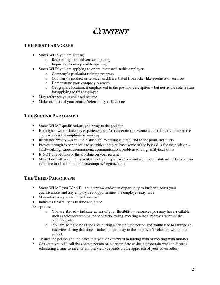 First Paragraph Cover Letter from image.slidesharecdn.com
