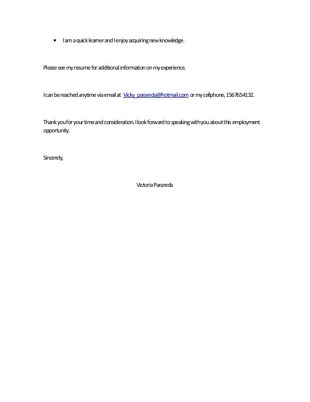 Quick Learner Cover Letter. Quick Learner On Resume Resume For .