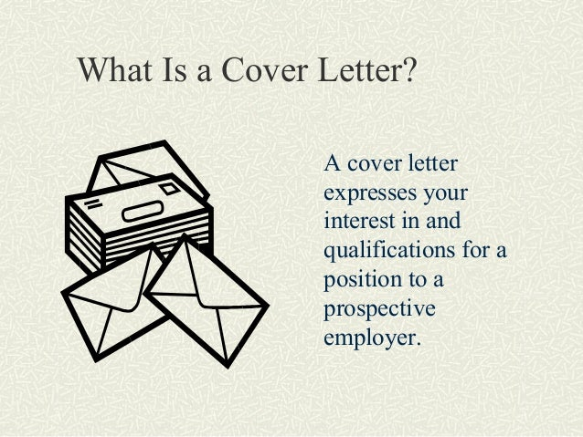 Organizing Your Letter In general  cover letters should be no longer than  one typed page
