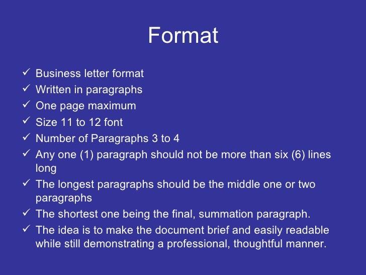 Cover Letters Should Be Two Paragraphs Long Maximum
