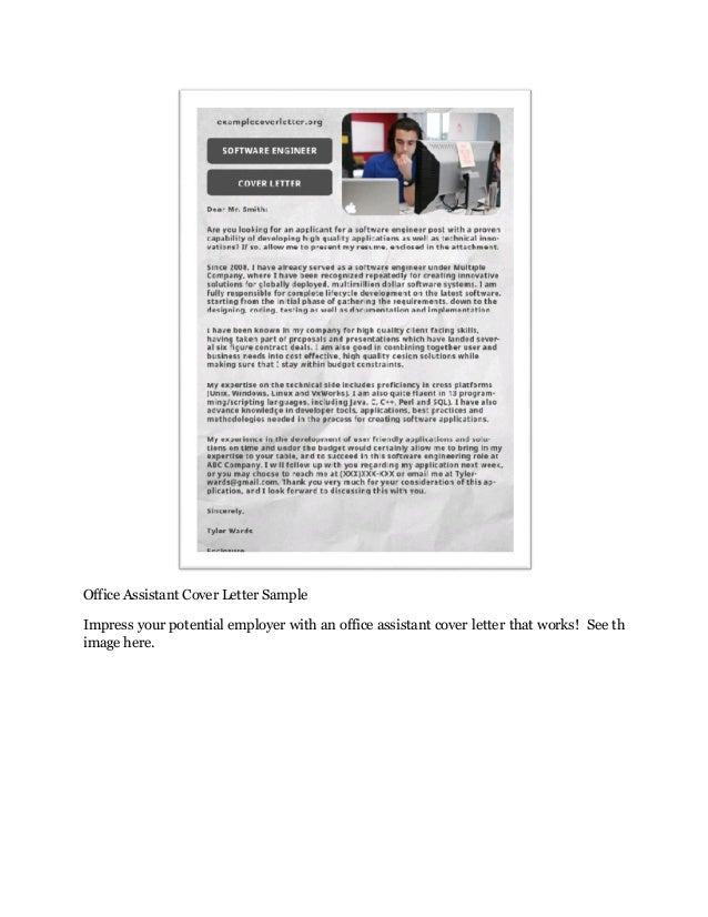job application cover letter sample free cover