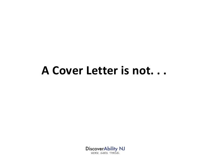 Cover And Thank You Letters
