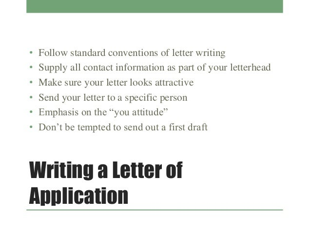 9 writing a letter - Cover Letter Letterhead