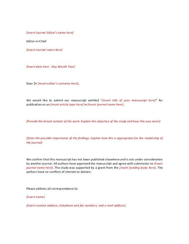 Elsevier cover letter template cover letter custom writing at 10 cover letter journal elsevier pronofoot35fo Images