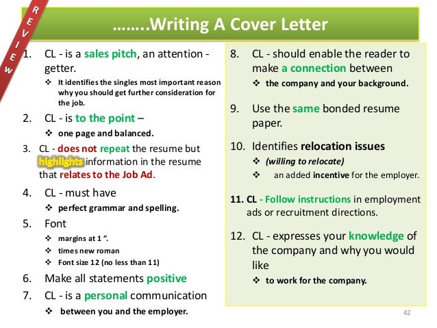 42 42 key words for cover letters - Key Words For Cover Letters