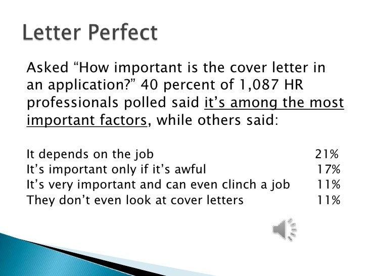cover letter webinar - Is Cover Letter Important