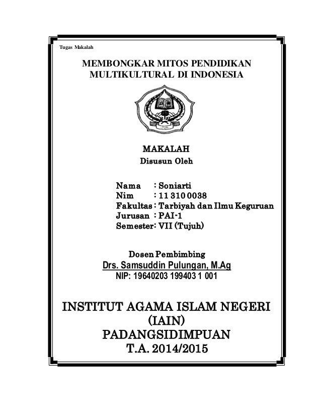 Contoh Cover Makalah Universitas Islam Riau Contoh Bow