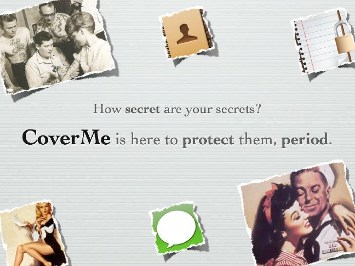 CoverMe (Mock project - Stanford Venture Lab 2012)