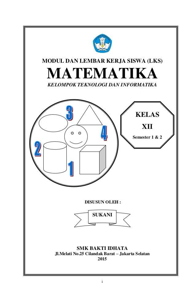 Cover Modul Lks Mat Kls 3