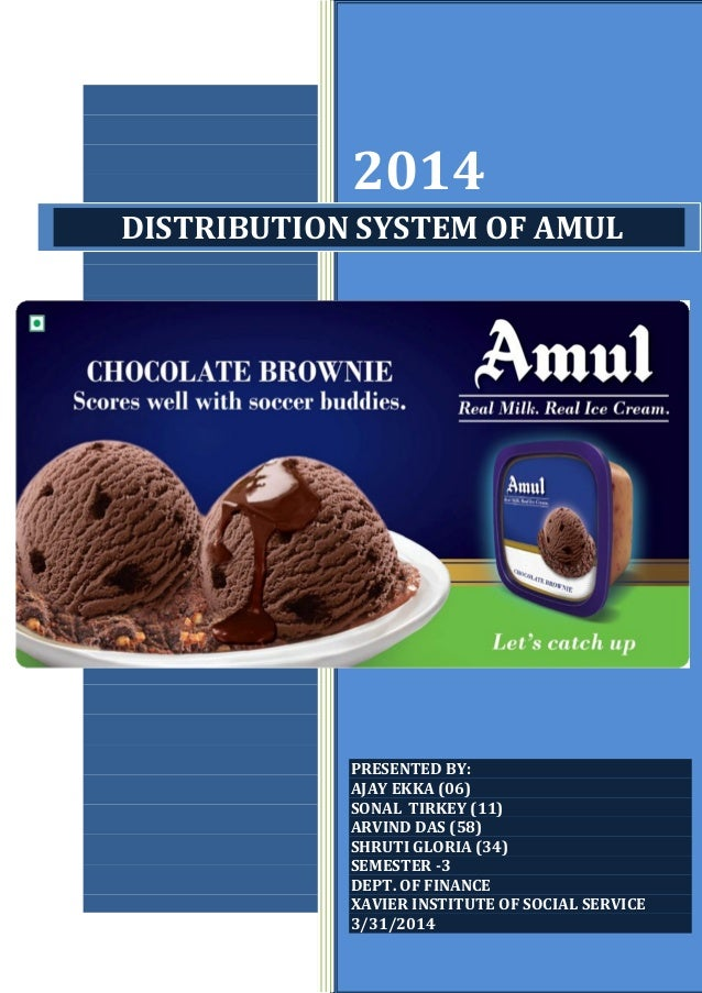 """amul projects Declaration i hereby declared that the project entitled """"consumer perception  regarding amul products in india"""" submitted to jagran college of arts, science."""