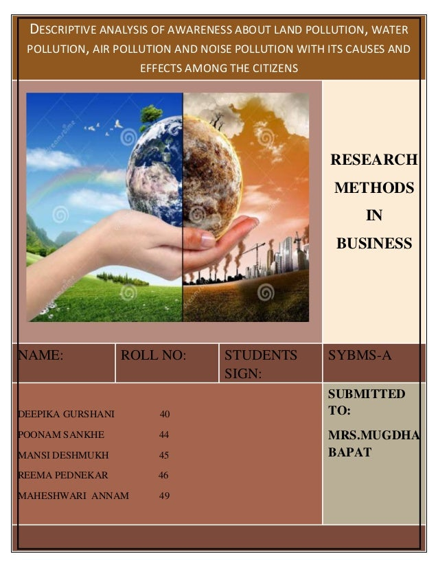 land pollution causes and effects essay Looking for the answer - environmental pollution essay - causes, types, effects of environmental pollution stay with us.