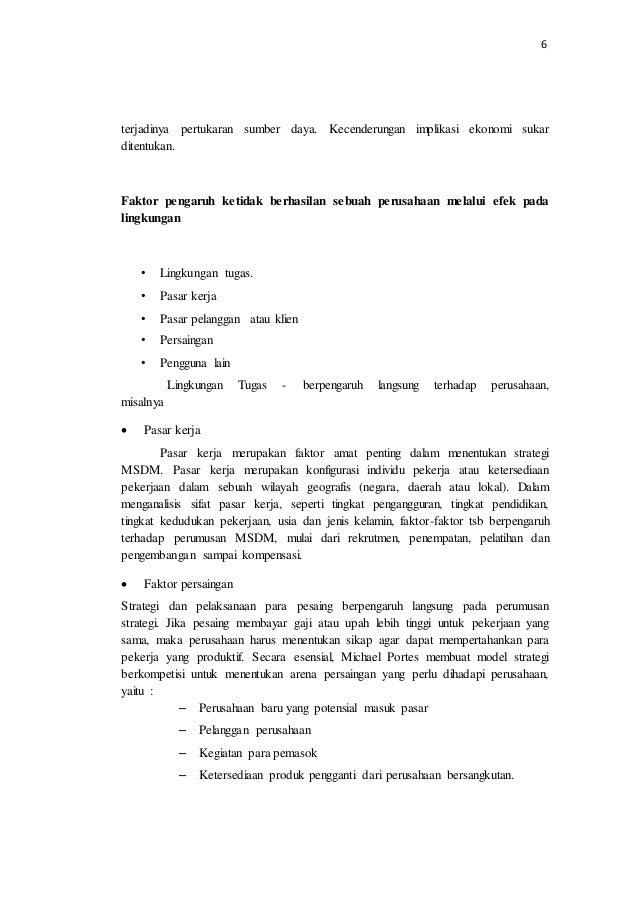 Contoh Makalah Manajemen Strategi Pdf Awan Danny Media