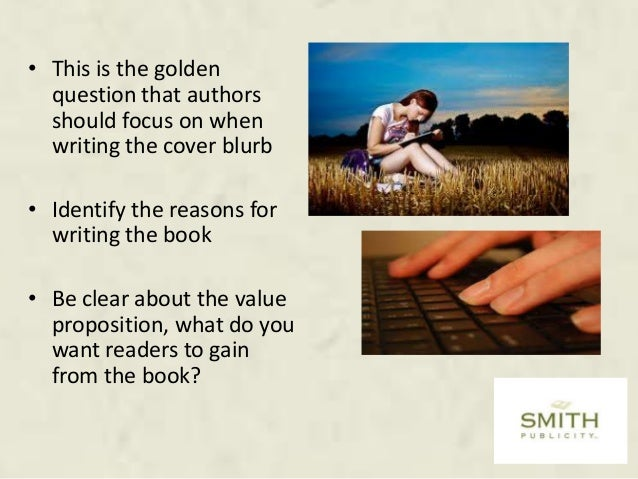 Blurb Writing Services