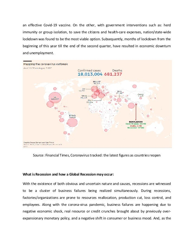 Covid19 Pandemic: Looming Global Recession and Impact on Bangladesh Slide 2
