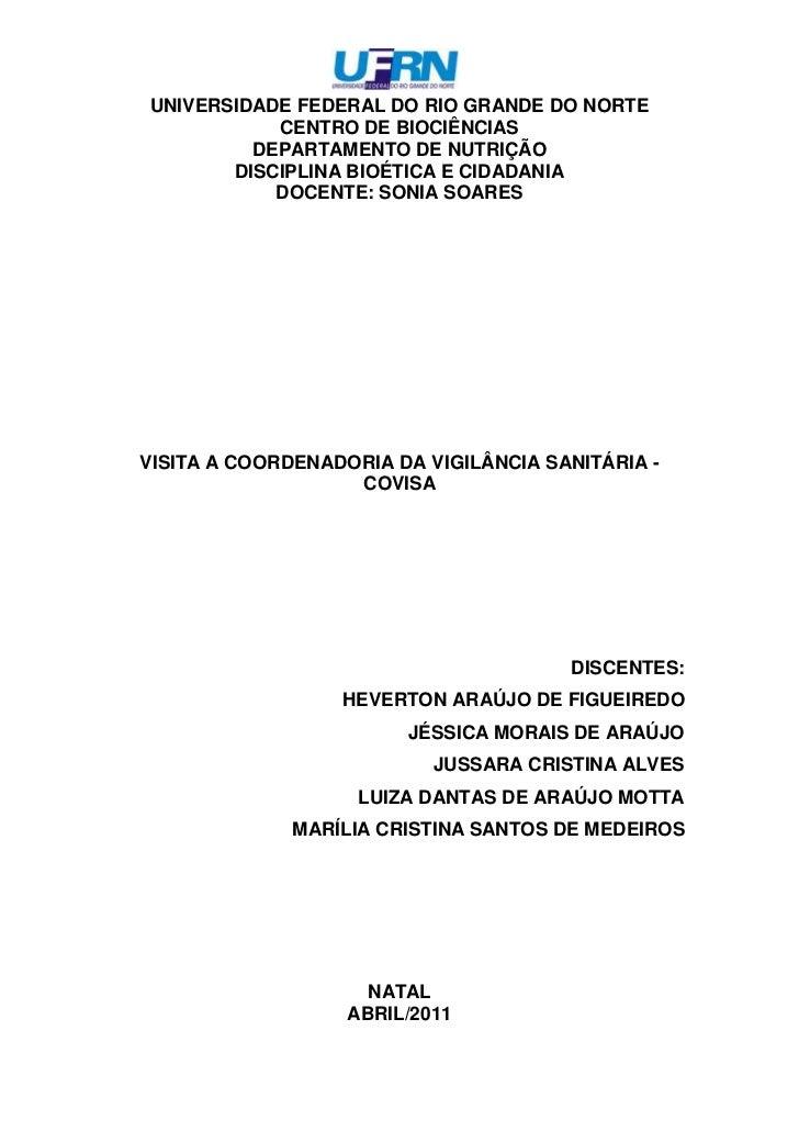 2063115-442595UNIVERSIDADE FEDERAL DO RIO GRANDE DO NORTE<br />CENTRO DE BIOCIÊNCIAS<br />DEPARTAMENTO DE NUTRIÇÃO<br />DI...