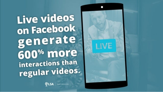 Study: Live Videos on Facebook Generate 600% More Interactions than Regular Videos