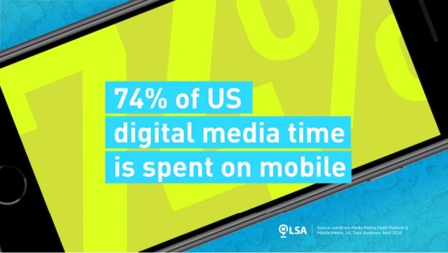 Study: 74% of Digital Media Time Now Mobile