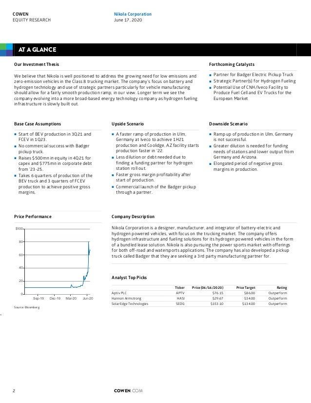 Cowen Nikola Initiation Report Slide 2