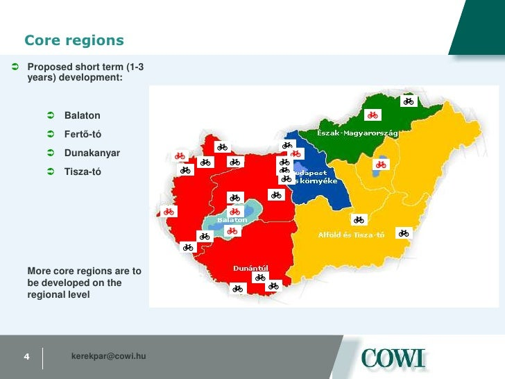 Core regions<br /><ul><li>Proposed short term (1-3 years) development:
