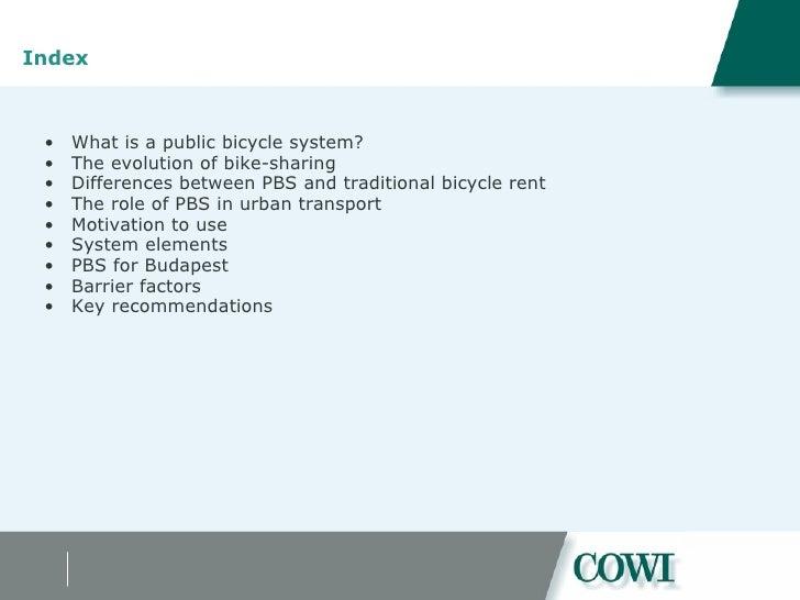 Feasibility of a public bike scheme in Budapest Slide 2