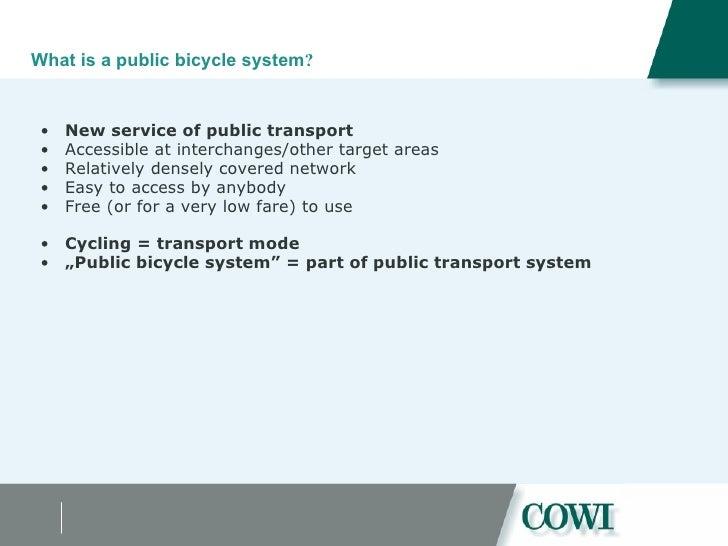 Feasibility of a public bike scheme in Budapest Slide 3