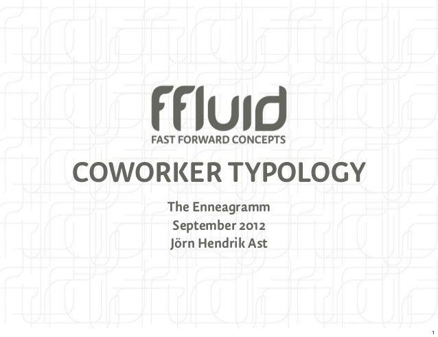 COWORKER TYPOLOGY     The Enneagramm      September 2012     Jörn Hendrik Ast                        1