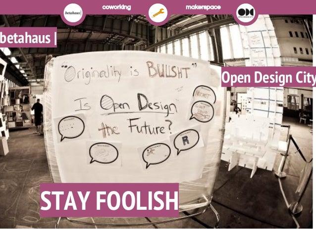Coworking europe2013: Coworking+Making