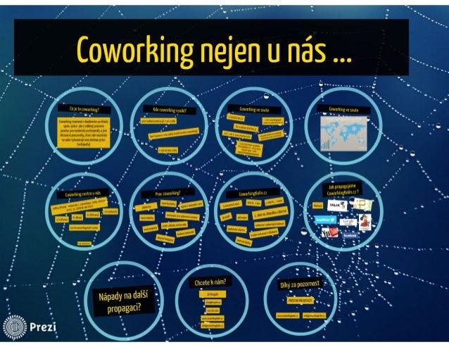 Co je to coworking a kde taková centra všude jsou? Slide 2