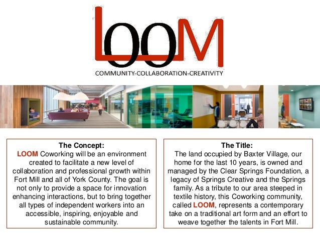 LOOM Coworking of Fort Mill