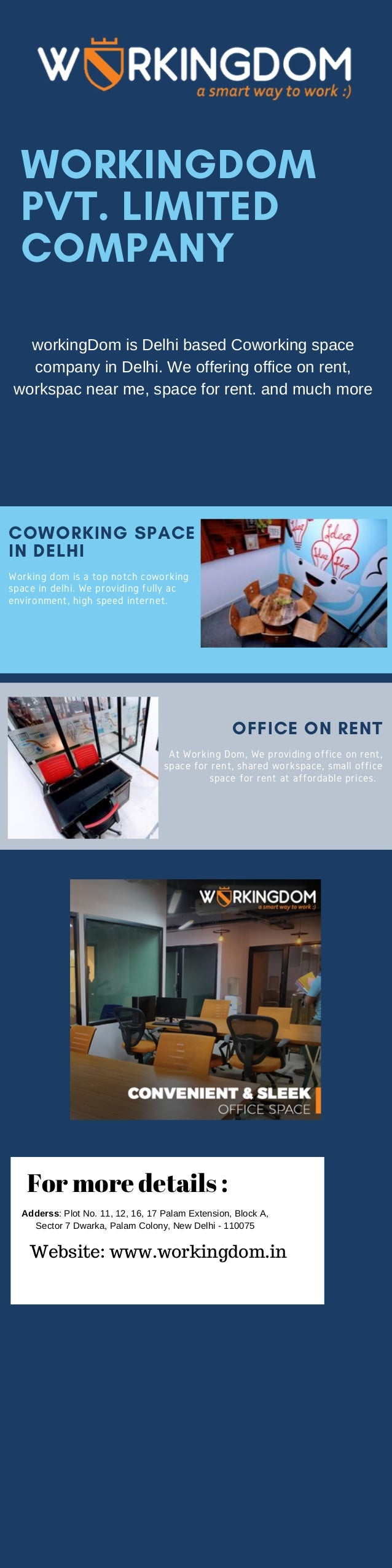 Workspace Near Me Small Office Space For Rent Coworking In Dwarka