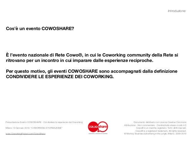 COWORKING E FORMAZIONE - CowoShare 6 Slide 2