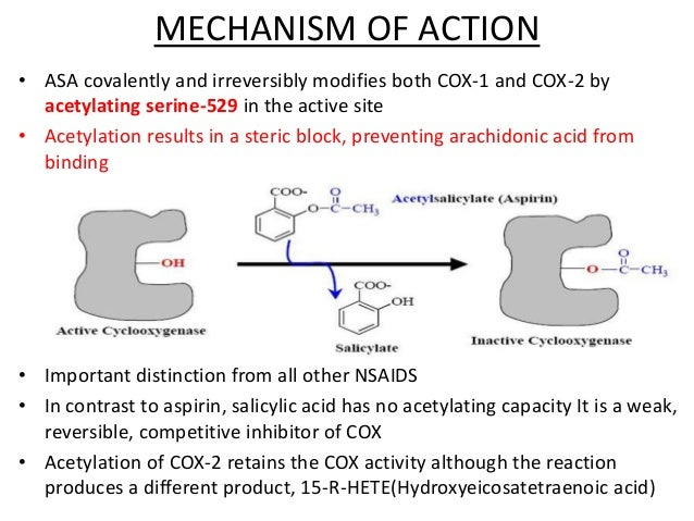nsaids mechanism of action pdf