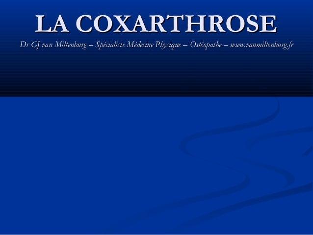 Coxarthrose