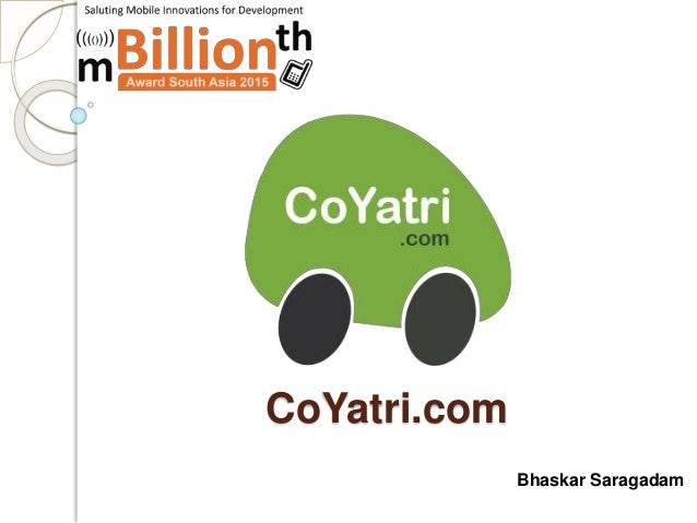 CoYatri.com Bhaskar Saragadam